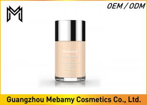 China Organic Liquid Mmineral Makeup Foundation Broad Spectrum Spf 20 30 Buff  1 Oz on sale