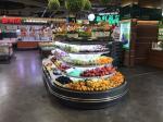 Supermarket Commercial Open Display Chiller For Fruit Beverage Vegetable