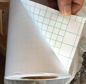 China Transparent Cold Lamination Paper Roll , Anti - Scratching Cold Press Laminating Sheets on sale