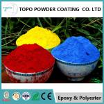 Hammer Texture Metallic Red Powder Coat, Reliable Powder Coated Paint For Metal
