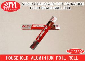 China Food Wrapping Grill Foil Aluminium Foil Paper Roll 12IN X 15 Micron X 37.5FT Size on sale