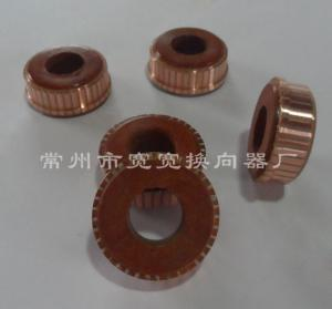 China 37 Segments Rare Earth Permanent Magnet Motor Commutator ISO Approved on sale