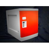 China Anti Rust / Anti Water Red ABS Plastic Lockers 4 Tier For Employee Keyless on sale