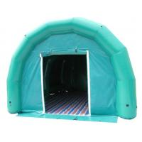 green portable inflatable air tight PVC tent for event party advertising
