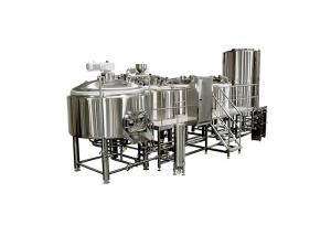 Quality Customized Beer Fermentation Equipment / 25BBL Brewing System Four Vessel For for sale