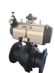 China air torque pneumatic ball valve air flow ball valves actuators on sale