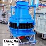 Cement Plant Road Crusher Machine 75kw 45 - 90 T/ H , Spring Cone Rock Crusher Machine