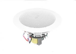 China ABS 1W - 3W 4 Inch Wireless Ceiling Speakers , PA Audio Speakers 134x84mm Dimension on sale