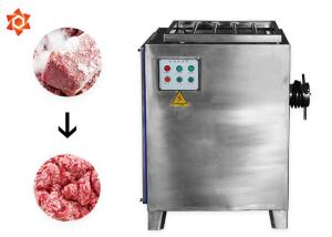 China Good Versatility Meat Processing Equipment Food Grinder Machine 1 Year Warranty on sale