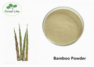 China Plant Based Food Supplement Powder Bamboo Powder Low The Blood Viscidity on sale