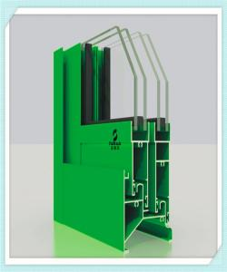 China Electrophoresis Aluminium Window Profiles , Sliding Door Aluminium Frame Profile on sale
