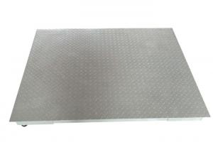 China 1.5 X 1.5m 3t Anti - Mouse Low Profile Floor Scales With Protective Plate on sale