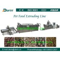 Dog Animal Pet Food Extruder Production Machine for corn , soya , bone meal