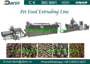 China Dog Animal Pet Food Extruder Production Machine for corn , soya , bone meal on sale