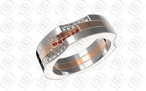 China Customized 316l Stainless Steel Rings For Her , OEM ODM Passed on sale