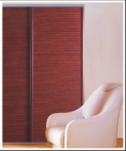 Internal Wavelike Wooden Sliding Door For Wardrobe Sliding Bedroom