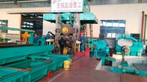 China 1400mm Stainless Steel Temper Rolling Mill Dry Type Siemens High Speed on sale