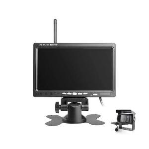 China vehicle security camera system wireless CCTV cameras for truck with monitor on sale