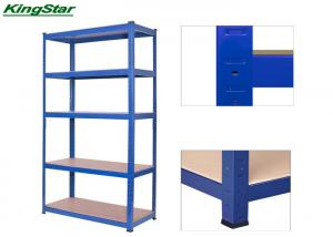 China Powder Coated Boltless Shelving System Common Upright , 265kg Capacity on sale