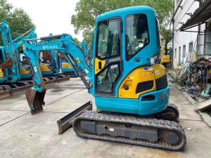 China 3 Ton Kubota U30-3 Mini Second Hand Mini Excavators on sale