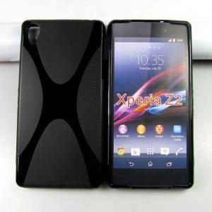 China Xperia Z2 X line tpu gel case cover skin housse funda carcasa coque Custodia kryty frontje on sale