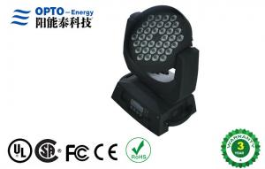 China RGBW 360W 4in1 LED Moving Head 36pcs 10W for live concerts / Stage 50Hz / 60Hz on sale