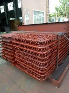 China Gas Fired Steam Boiler Water Wall Panels Welded Tubes Corrosion Resistant on sale