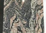 China multicolor red granite juparana granite stone tiles polished