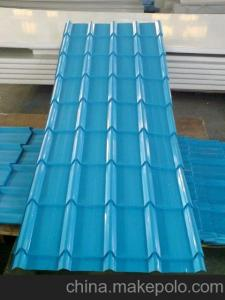 China Agent price High precision automatic metal roof tile making machine on sale
