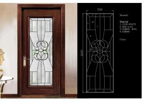 China Traditional Door Decorative Panel Glass 3mm-19mm Clear Tinted & Reflective Glass on sale