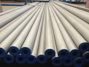 China Seamless Stainless Steel Pipe,JIS G3459 SUS304, SUS316 , SUS321, Bevel End, 6m/pc, Ply-Wooden Case. on sale