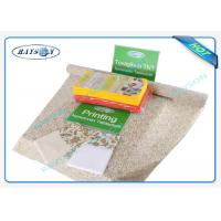 Nonwoven Cleaning Environmental Disposable Table Cloths For Hotel , 45g 50g 60g Customized