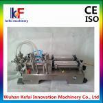 China supplier 1-5000ml semi automatic double head liquid filling machine