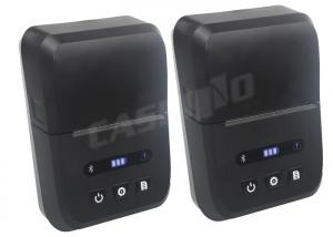 China Mini Portable Usb Mobile Thermal Printer For Outdoor Usage In Black Color on sale