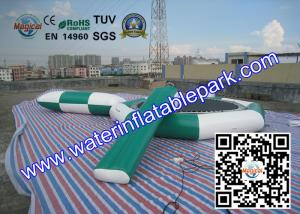 China Floating Inflatable Water Trampoline Combo Game Playing On Sea Or Lake on sale
