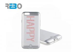 China Smart LED DIY Shining case Apple Iphone Cases For Iphone 6 / 6s on sale