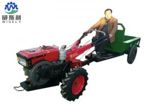 China Multifunctional Walk Behind Garden Tractor With Mini Trailer Compact Structure on sale