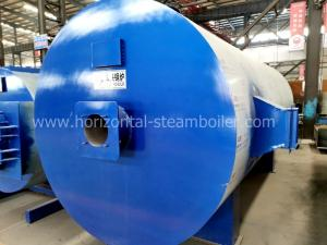 China Three Pass Structure Horizontal Thermal Oil Boiler System Low Working Pressure on sale