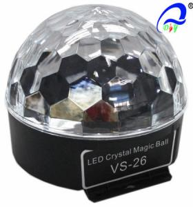 China Sound Crystal Led Magic Ball Light , Olympic Circles Multi Colored Christmas Lights on sale