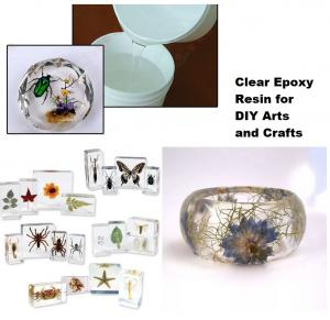 China Crystal Clear Epoxy Resin Arts And Crafts on sale