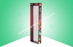 China Wal-mart Xmas Cardboard Display Stand / Power Wing Display For Hanging Dog Toys on sale