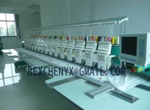 China High speed computerized flat embroidery machine on sale