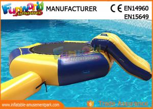 China Inflable 15-Foot Water Trampoline, Inflatable Floating Water Toys  Jumping Pad on sale