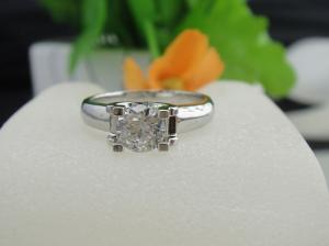 China Wholesale 925 Sterling Silver White Cubic Zirconia Diamonds Ring Jewelry 76pcs on sale