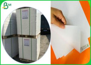 China Virgin Wood Pulp Material Glossy Coated Paper For Making Birthday Card on sale