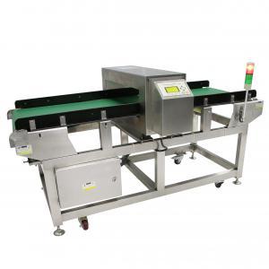 China Food Plastics Recycling Industrial Metal Detectors , Conveyor Metal Detector Equipment on sale