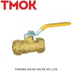 China PN16 2 Inch Rubber Inflation Tank Float Threaded Brass Ball Valve on sale