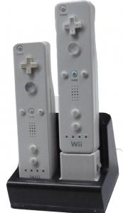 China Dual Charge Station for Wii Remote (Compatible with or with Wii Motion Plus ) OS-010431a Wii Accessories on sale