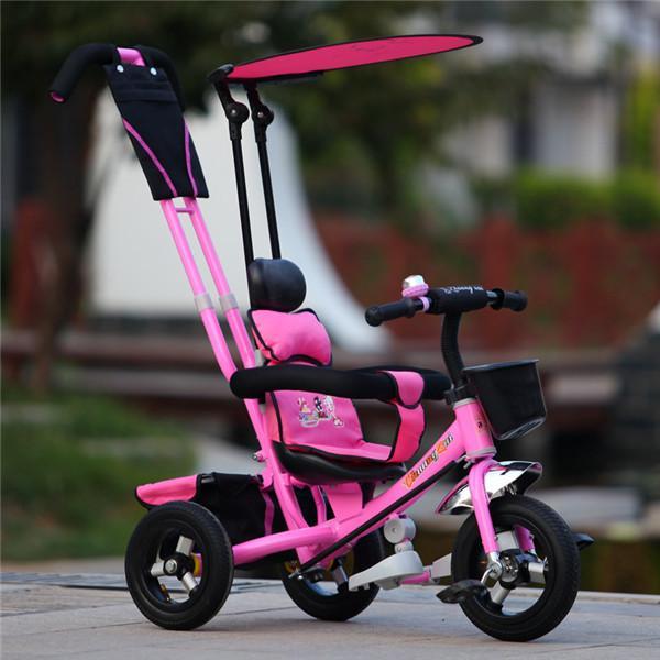 Triciclo de lujo de /3-1 del triciclo de niño del marco metálico ...