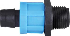 China Reusable Drip Tape Fittings Plastic Irrigation Pipe Fittings Dn1216 20 25m on sale
